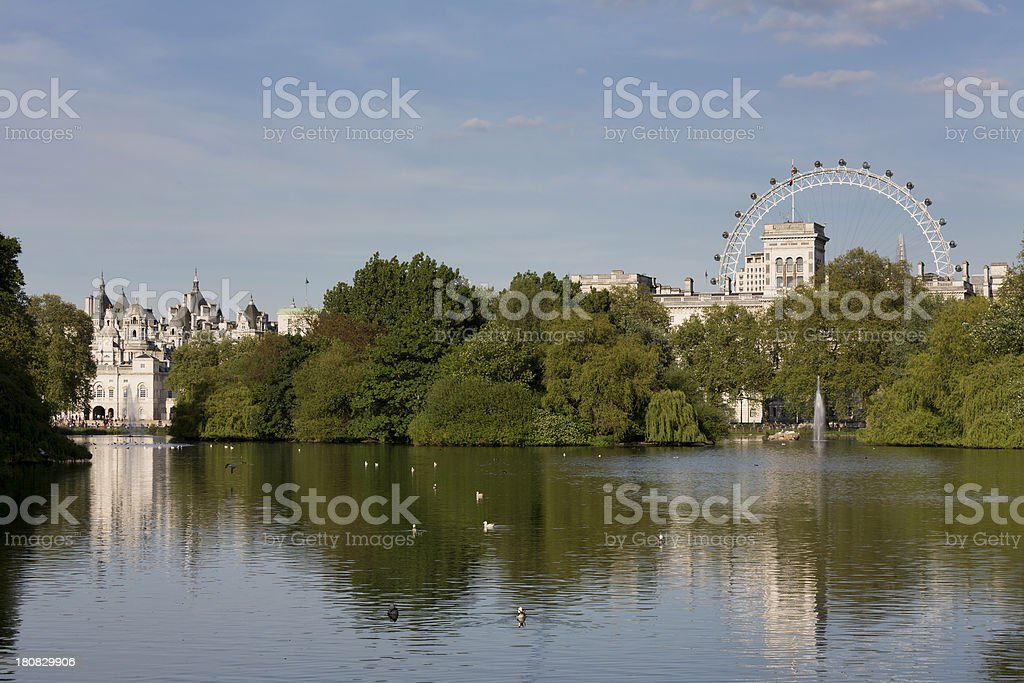 St James's Park royalty-free stock photo