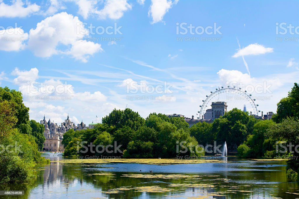 St. James's Park stock photo