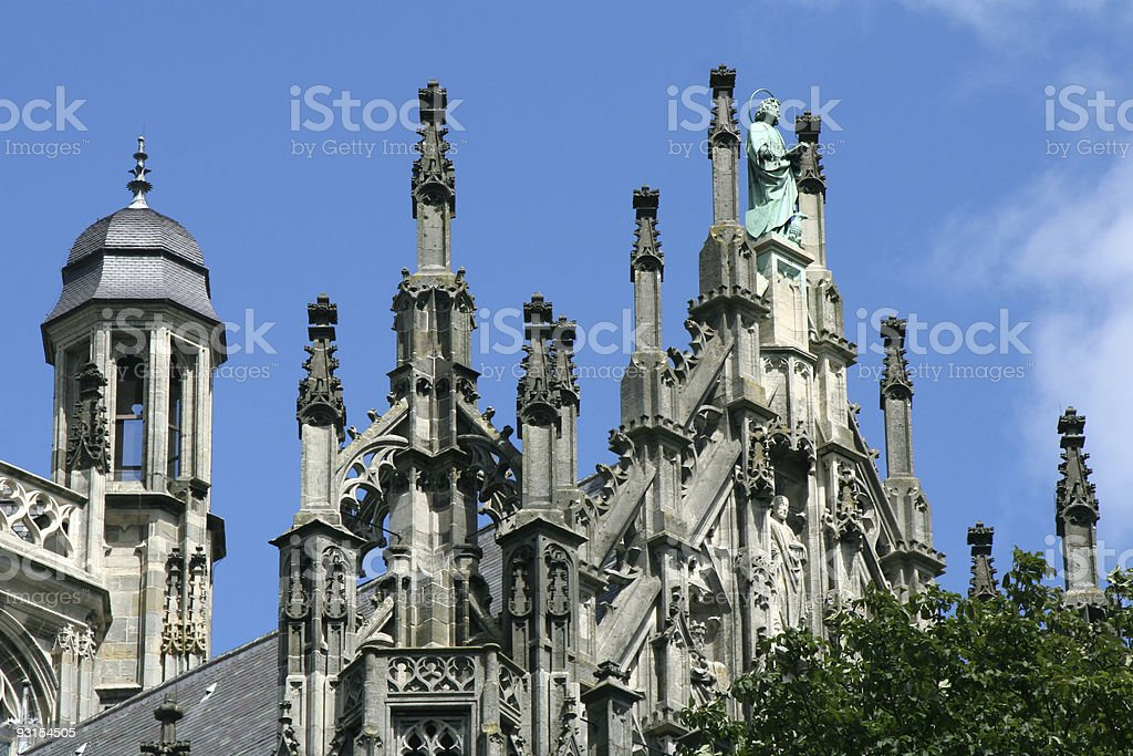 St. Jan Cathedral in 's Hertogenbosch, The Netherlands # 3 stock photo