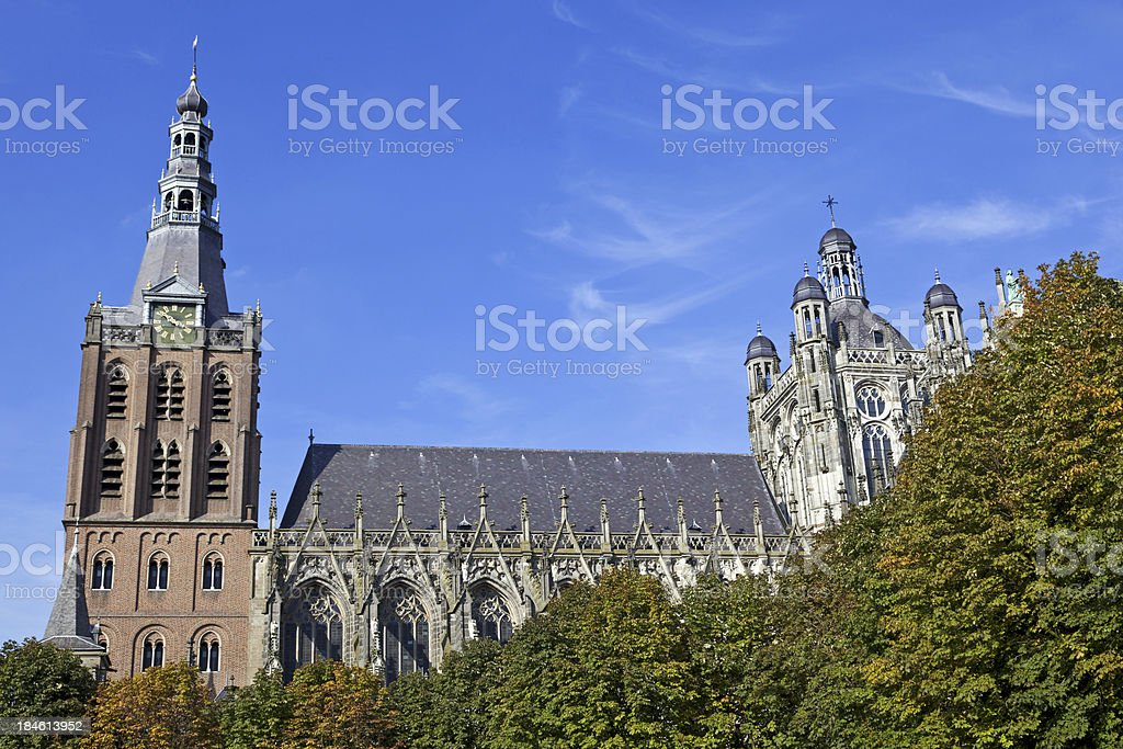 St. Jan's Cathedral in 's Hertogenbosch # 7 XXL stock photo