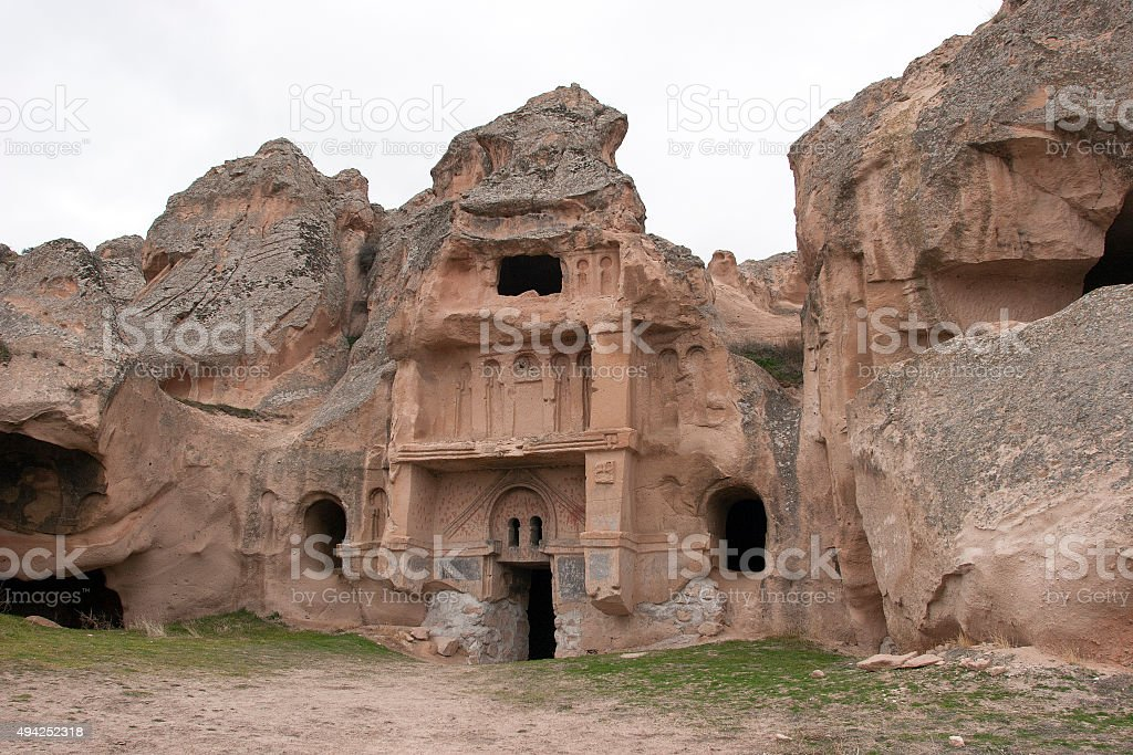 St. Jean Church (Karsi Kilise),Cappadocia church stock photo