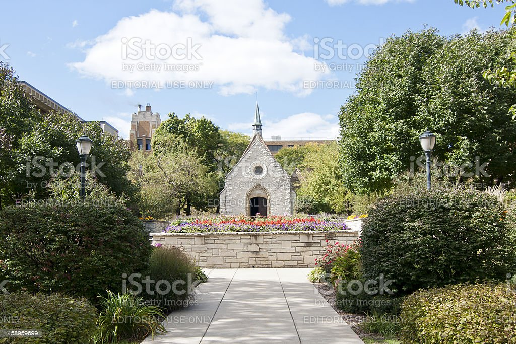 St. Joan of Arc Chapel stock photo