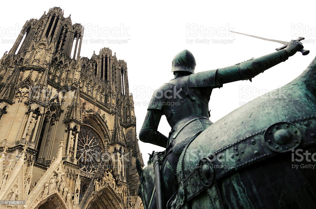 St. Joan Of Arc stock photo