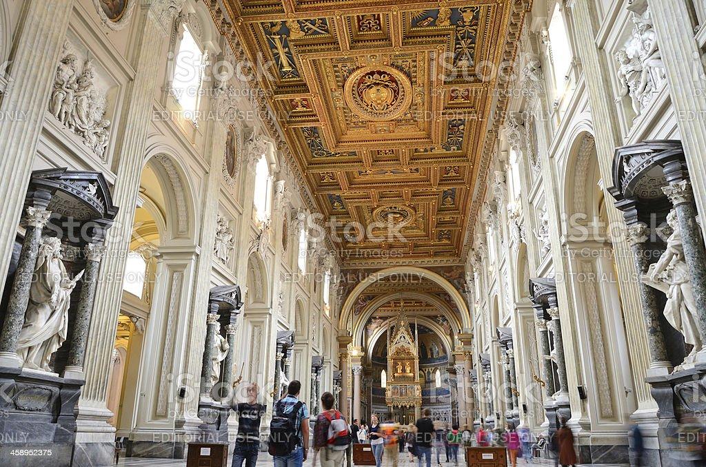 St. John in Lateran royalty-free stock photo