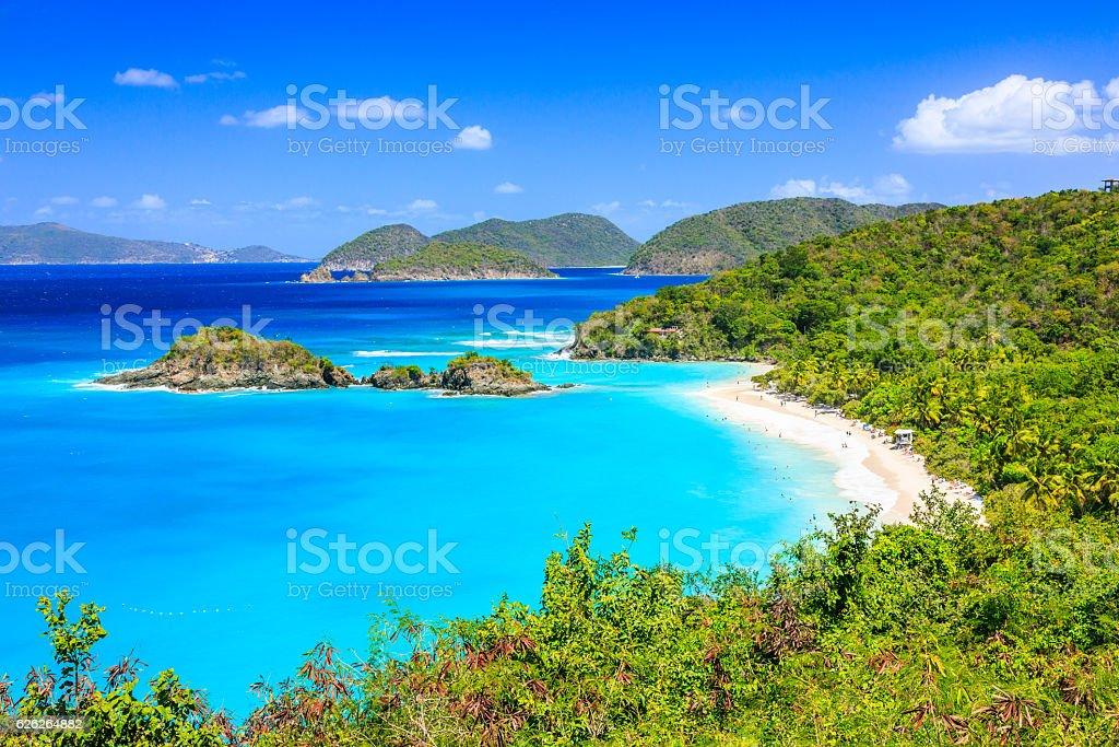 St John island, US Virgin Islands. stock photo