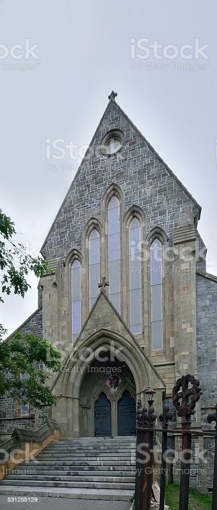 St John's Anglican Cathedral stock photo