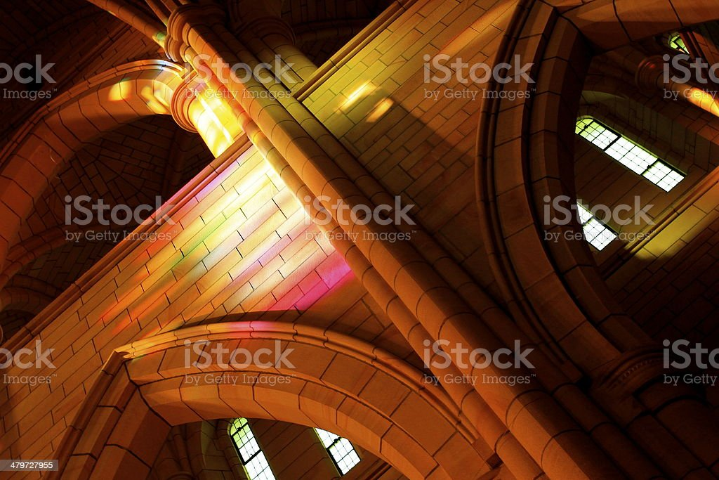 St John's Cathedral, Brisbane stock photo