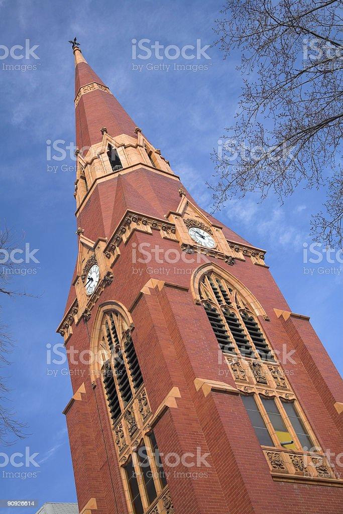 St. John's Cathedral in Saskatoon royalty-free stock photo
