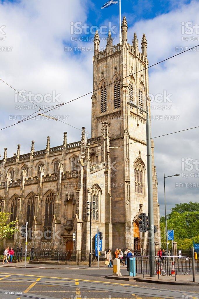 St John's Church, Edinburgh, Scotland, United Kingdom. stock photo