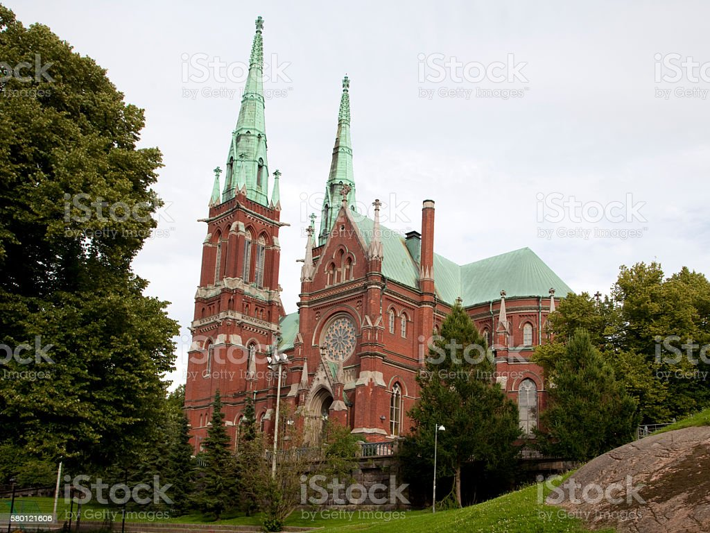 St. John's Church in Helsinki, Finland stock photo