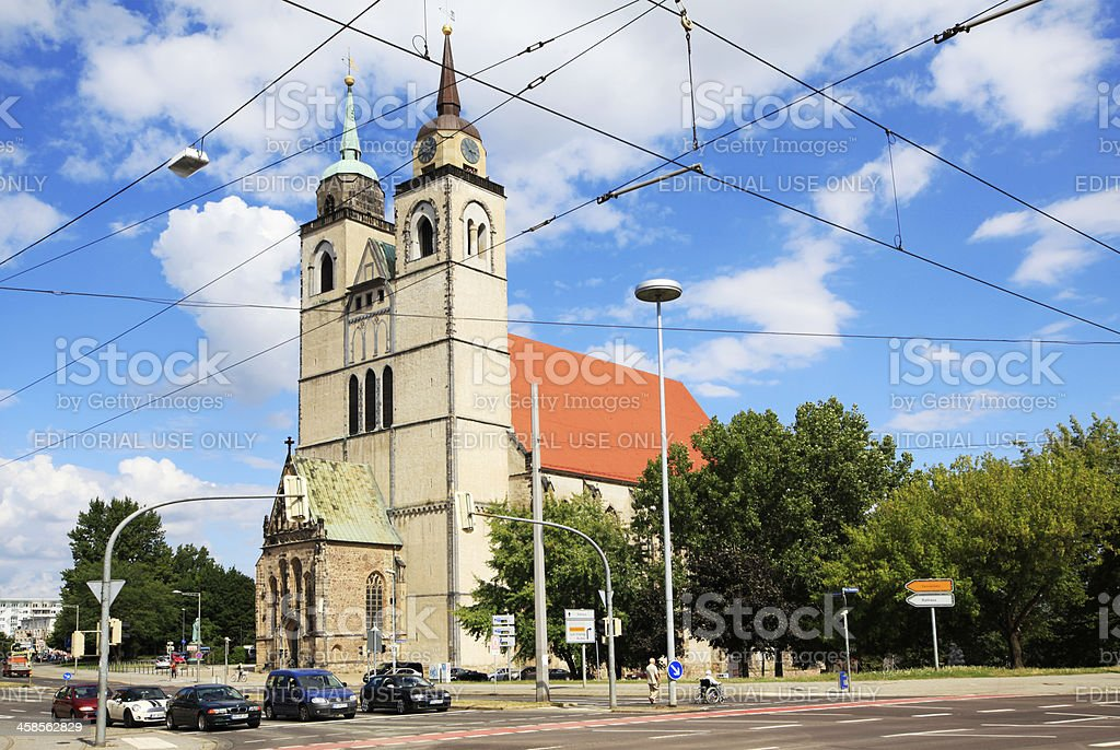 Johanneskirche in Magdeburg, Germany royalty-free stock photo