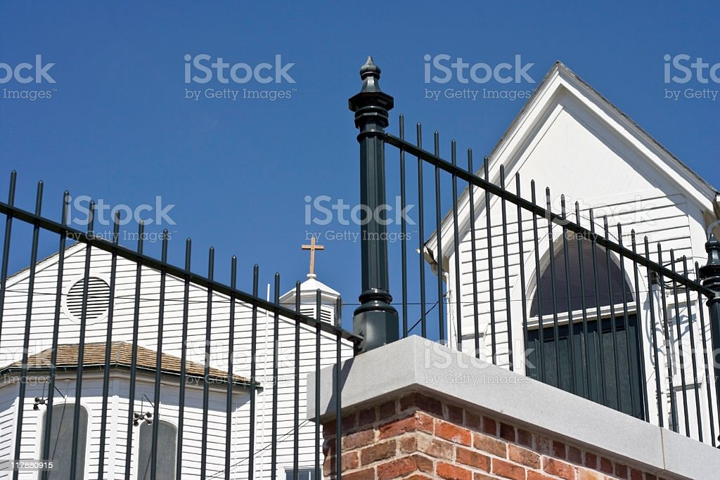 St. John's Church stock photo