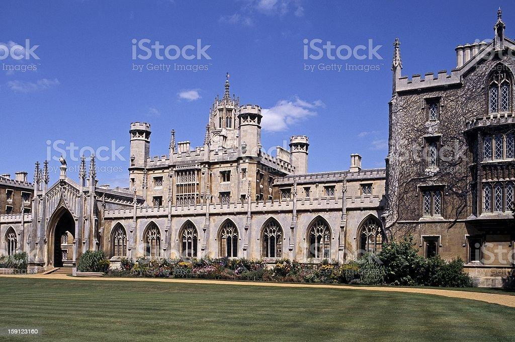 St Johns College, Cambridge, UK. stock photo