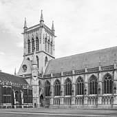 St Johns College Chapel in Cambridge University. England