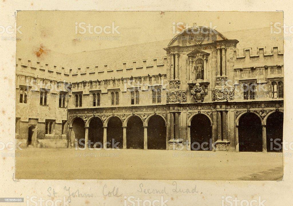 St John's College, Oxford stock photo