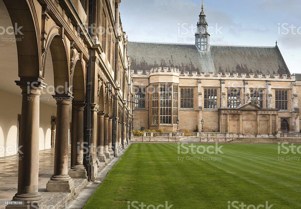 St Johns College stock photo