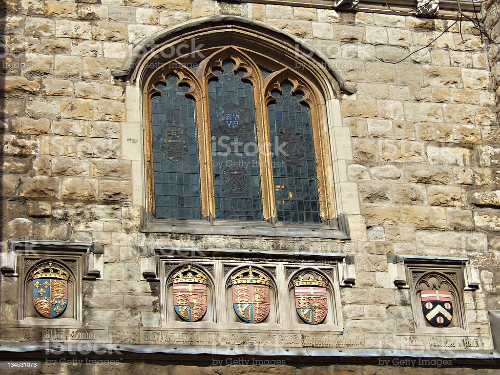 St John's Gate Clerkenwell London royalty-free stock photo
