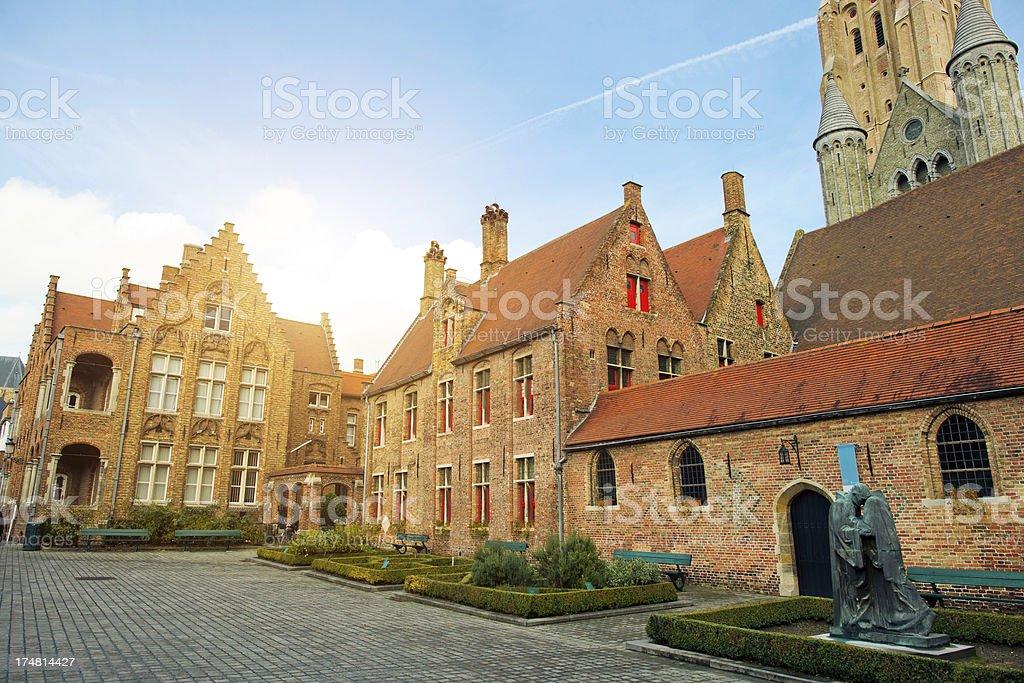 St John's Hospital, Bruges, Belgium royalty-free stock photo
