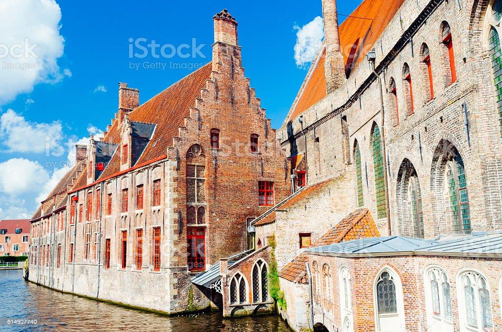 St John's Hospital Brugge, Belgium stock photo
