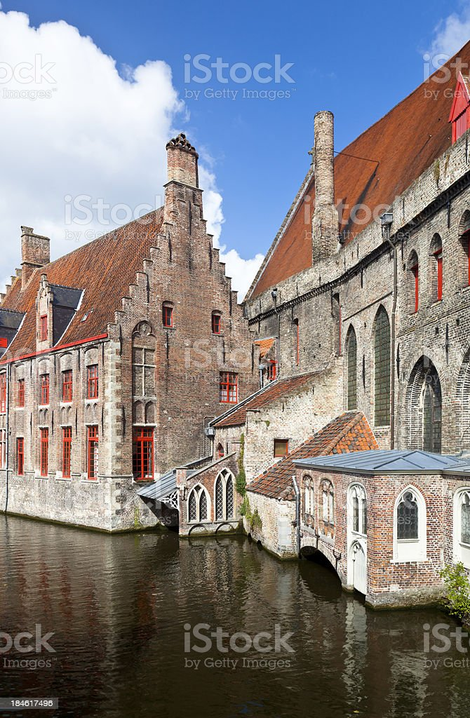 St. John's Hospital In Bruges stock photo