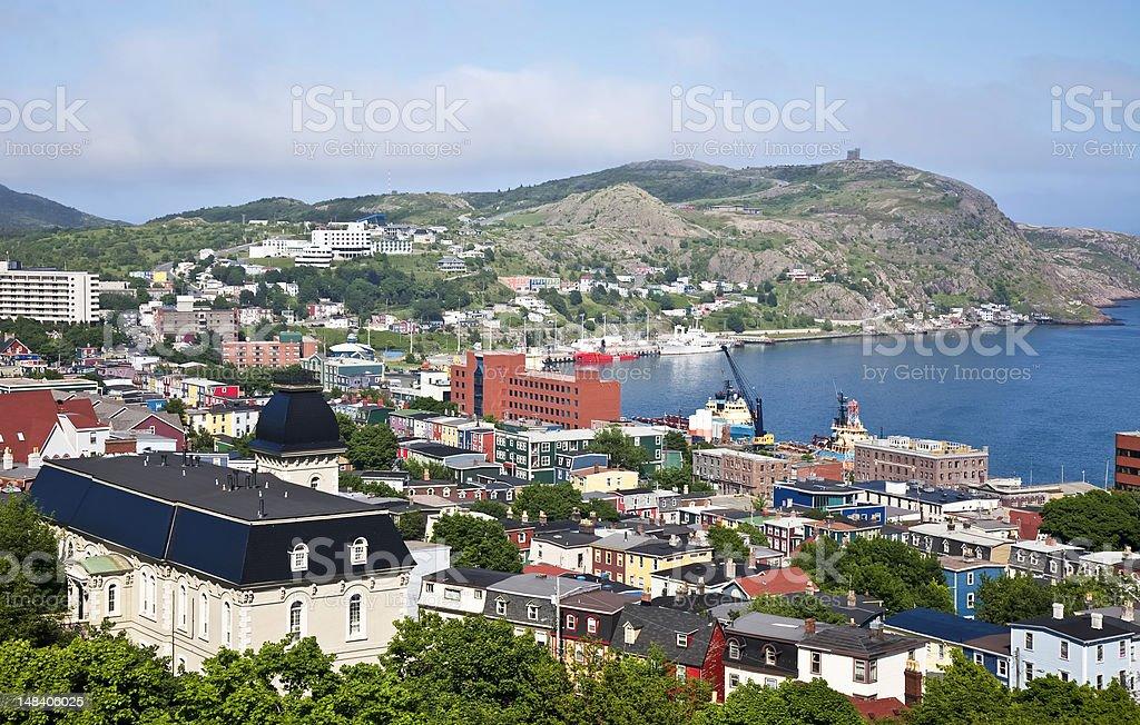 St. John's, Newfoundland stock photo