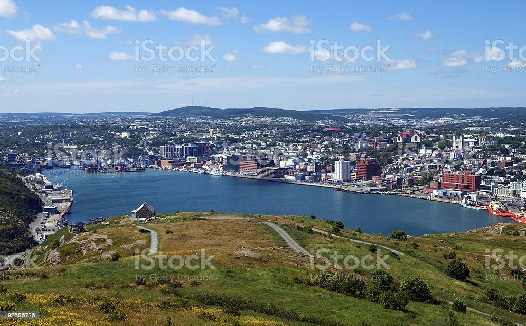 St. John's, Newfoundland royalty-free stock photo