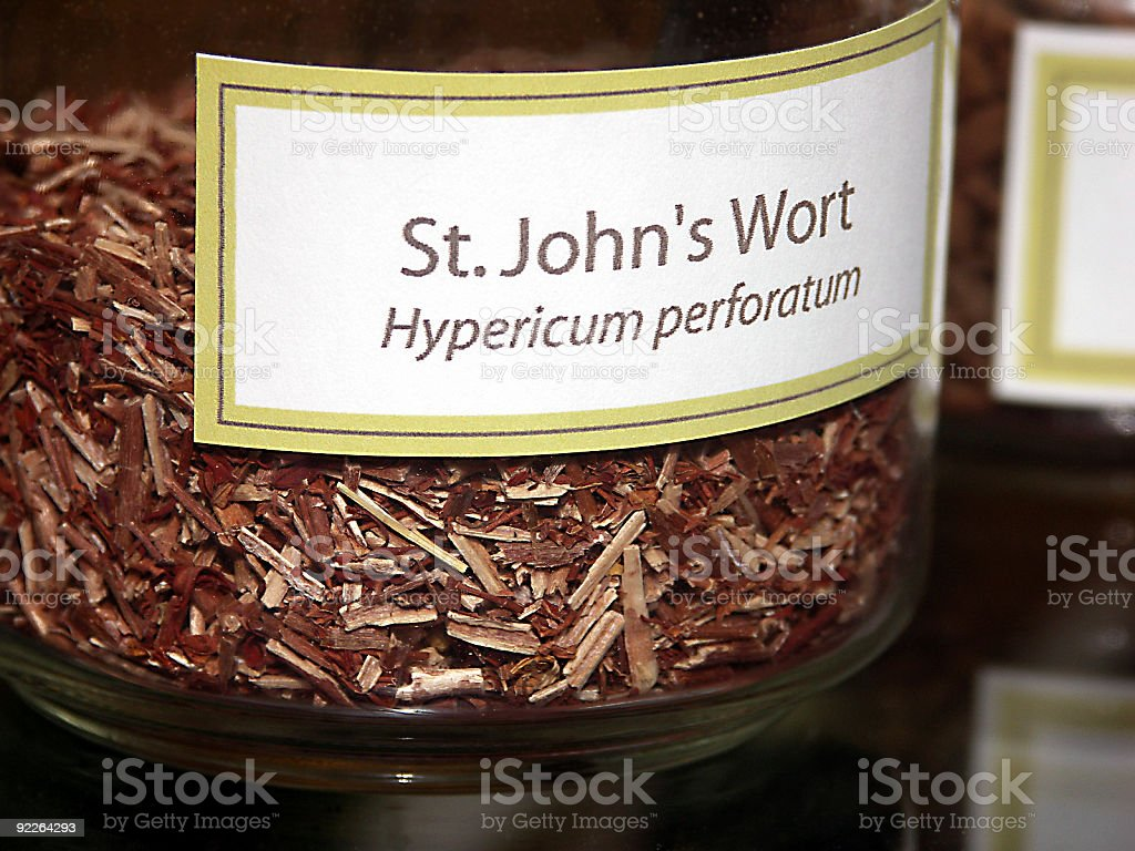 St. John's Wort royalty-free stock photo