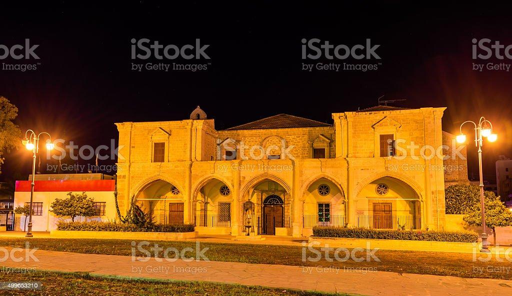 St. Joseph Catholic School in Larnaca - Cyprus stock photo