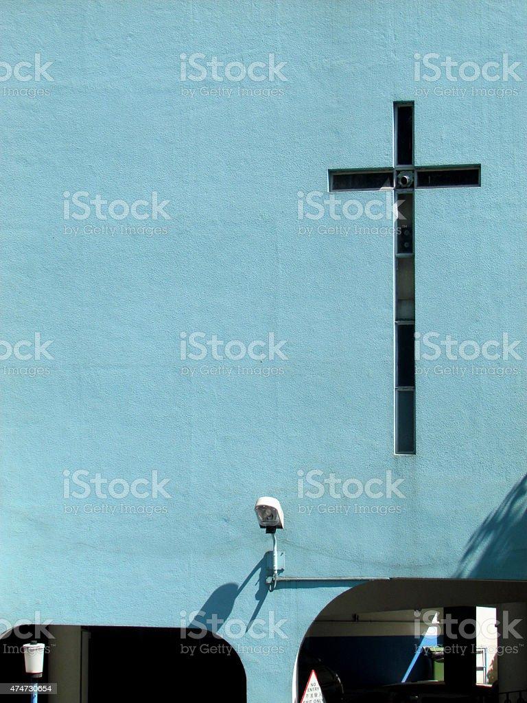 St. Joseph Church, Hong Kong stock photo