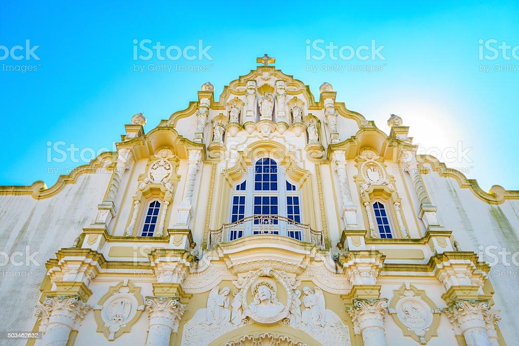 St. Joseph Church in Gretna New Orleans Louisiana stock photo