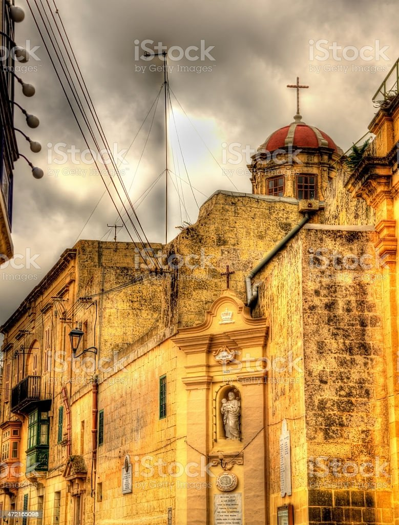 St. Joseph Church in Rabat - Malta stock photo