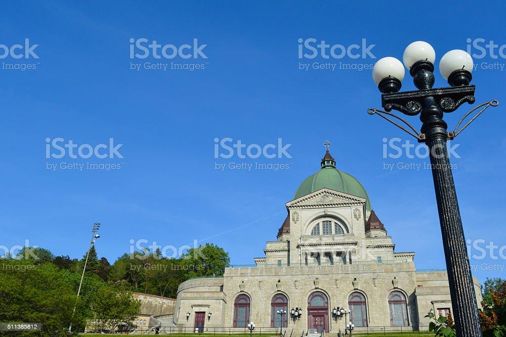 St Joseph Oratory in Montreal stock photo