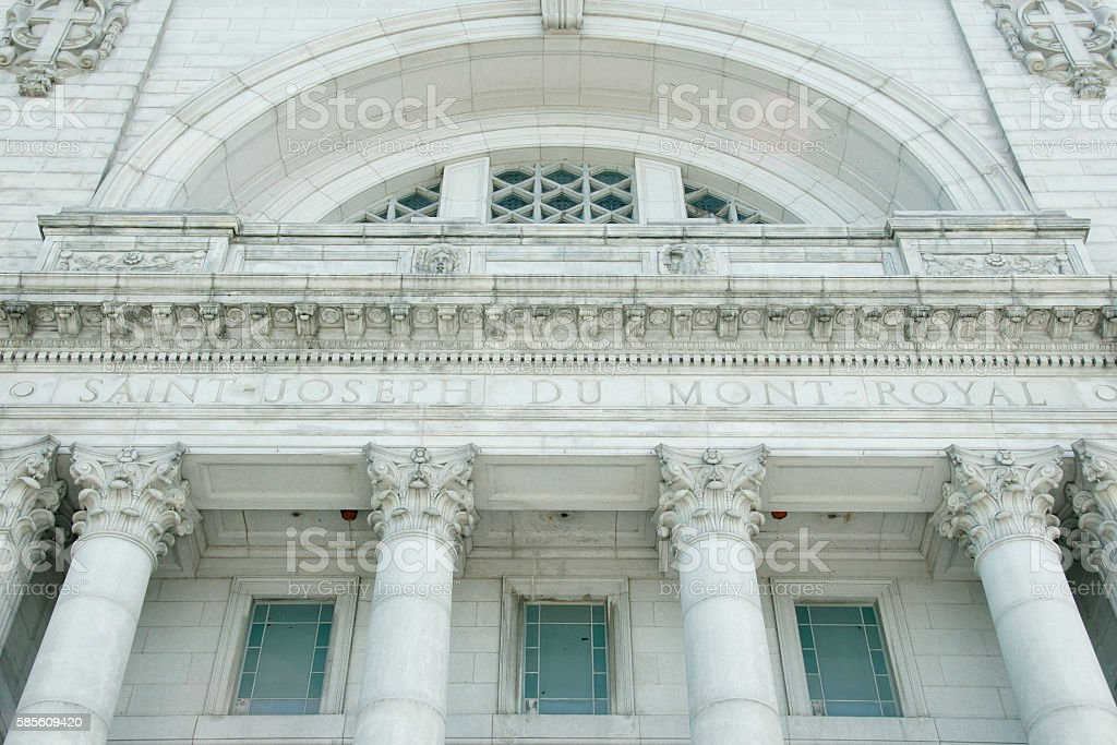 St Joseph Oratory - Montreal - Canada stock photo