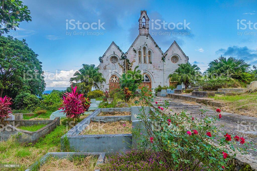 St. Joseph Parish Church, Barbados stock photo