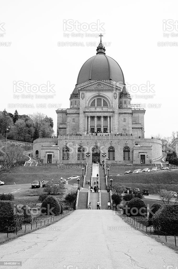 St. Joseph's Oratory stock photo