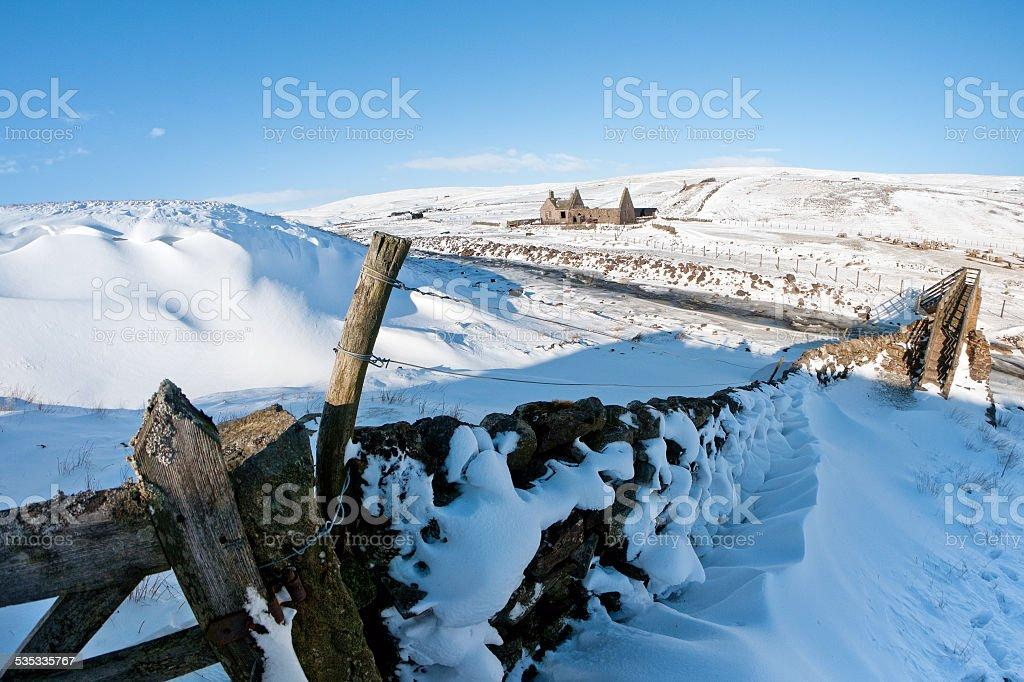St Judes Chapel, Harwood, Upper Teesdale, County Durham, UK stock photo