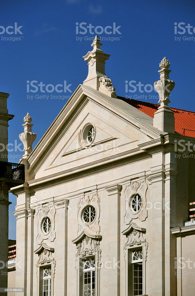 St Julian's church, Lisbon stock photo
