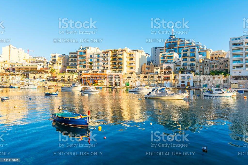 St Julians, Malta stock photo