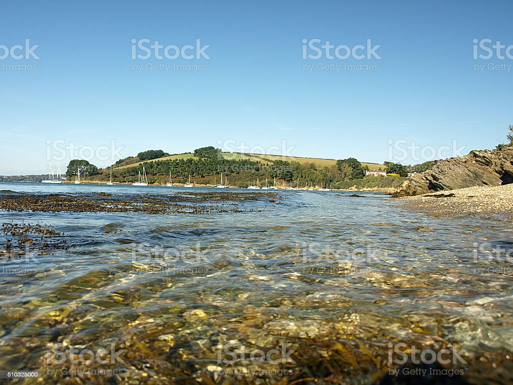 St Just in Roseland stock photo