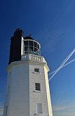 St. Just Lighthouse, Roseland, Cornwall, UK