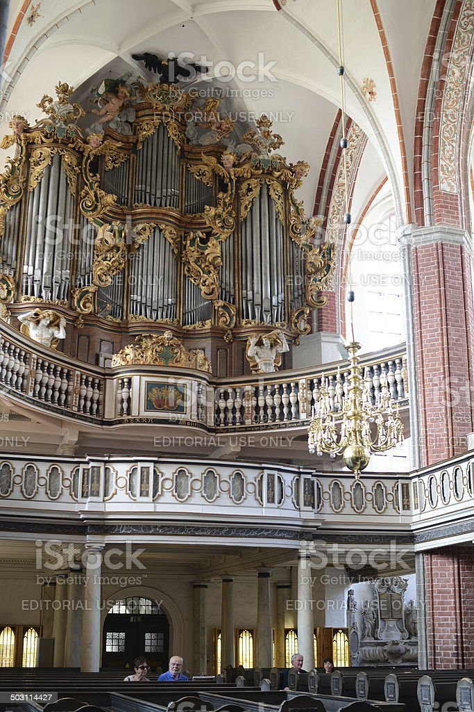 St. Katharinen Church (Brandenburg, Germany) stock photo