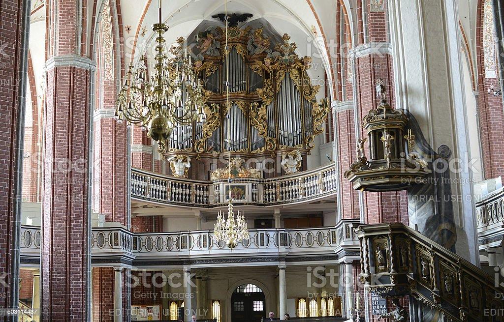 St. Katharinen Church (Brandenburg, Germany) stock photo