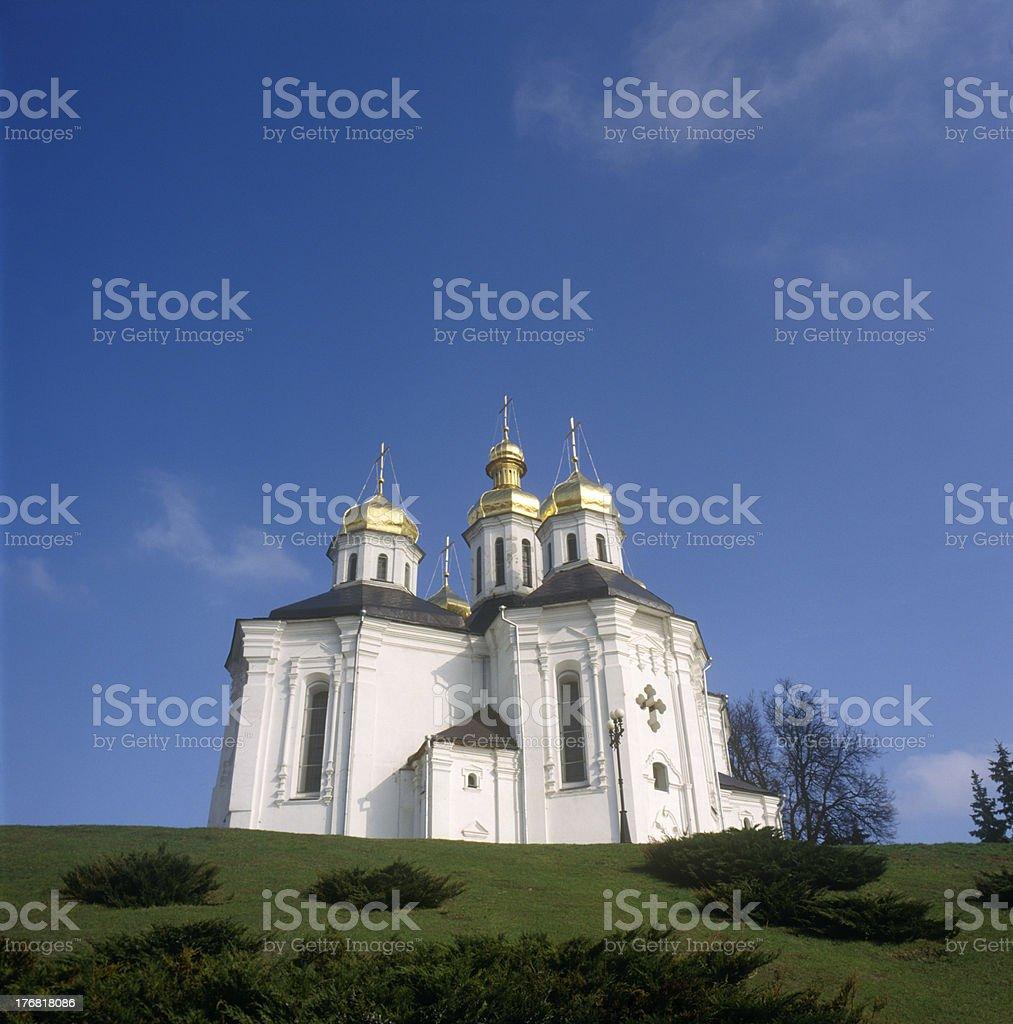 'St. Katherina's church. Chernigiv, Ukraine' stock photo