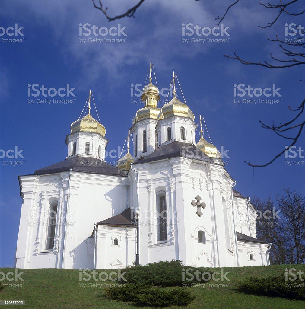 'St. Katheryna's church in Chernigiv, Ukraine' stock photo
