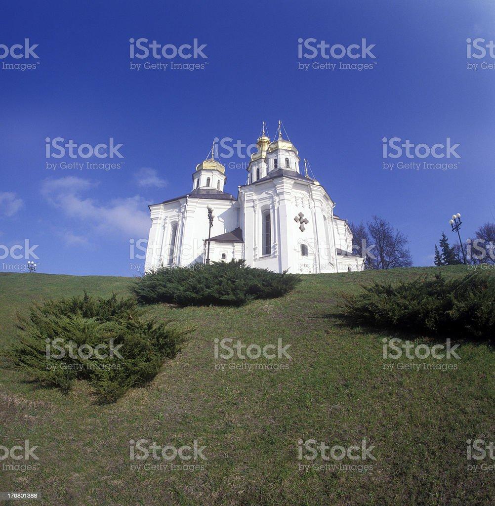 St. Katheryna's church in Chernigiv, Ukraine royalty-free stock photo