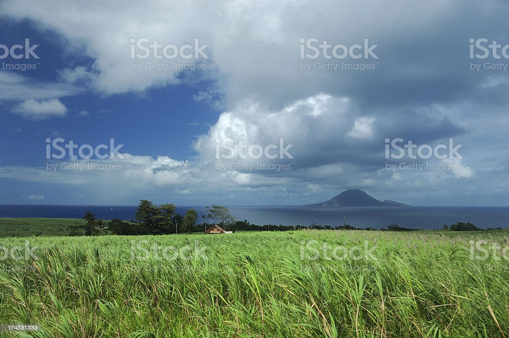 St. Kitts royalty-free stock photo