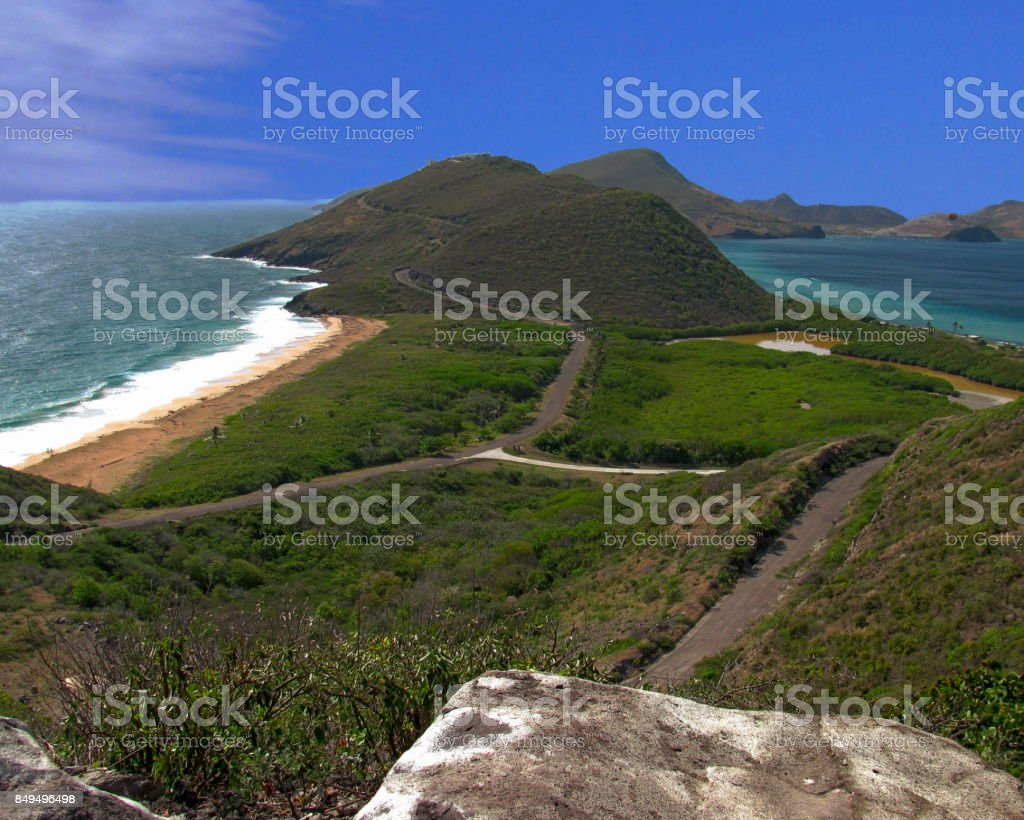 St. Kitts stock photo