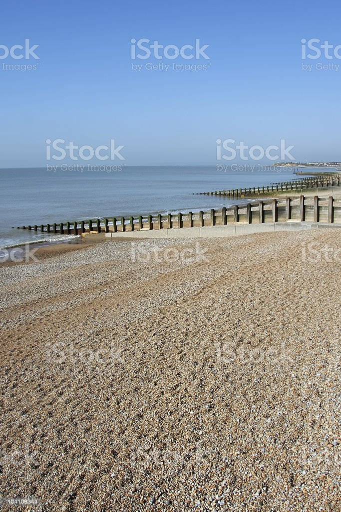 st leonards beach hastings royalty-free stock photo