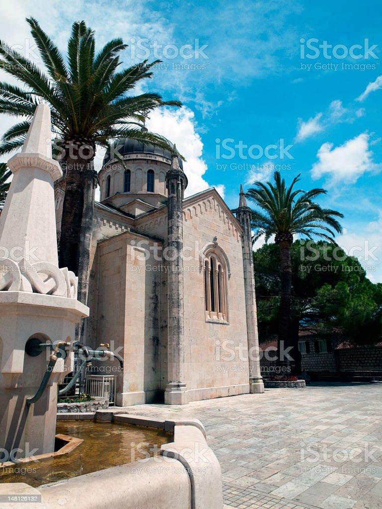 St. Leopold Mandic's church. stock photo