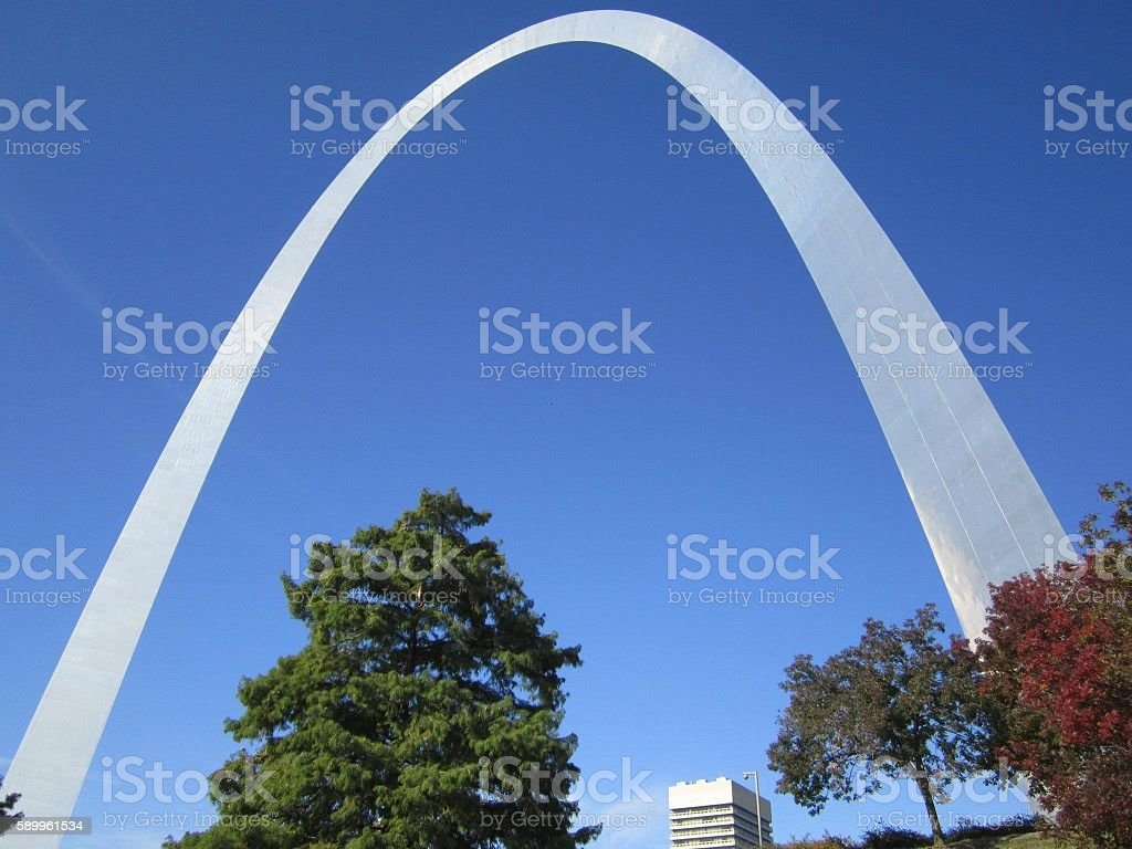 St. Louis Arch stock photo